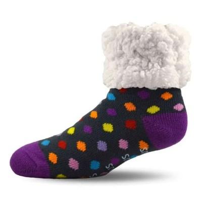 Pudus Polka Dot Socks