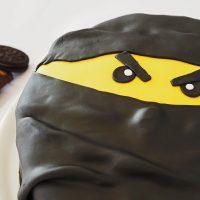 Schoko-Oreo-Torte mit Fondant / Ninja-Torte
