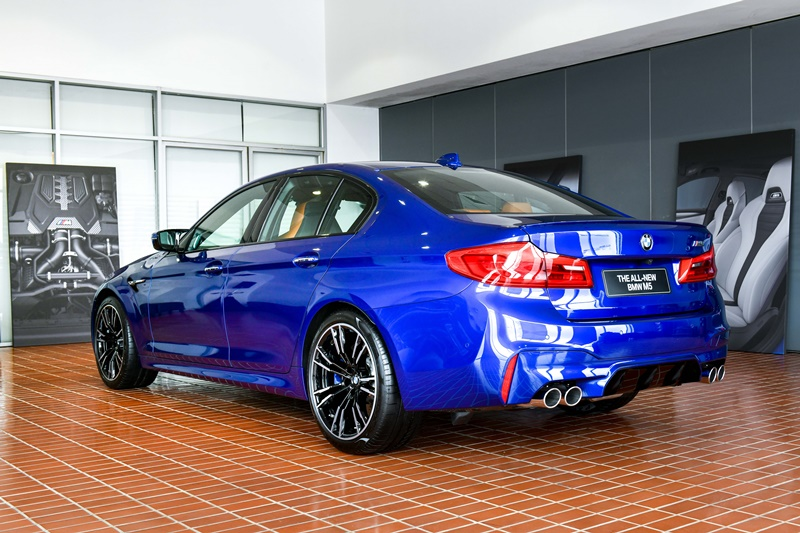 Exclusive Preview of the All New BMW M5 26
