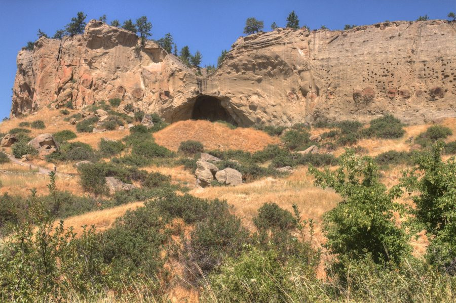 Pictograph State Park outside of Billings, Montana in Summer.