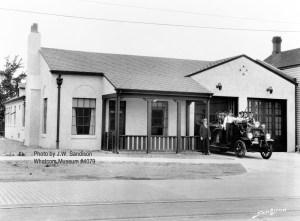Fire Station No. 2 circa 1927
