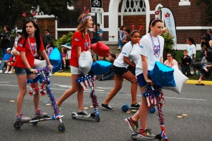 junior ski to sea parade