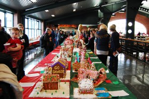 Enjoy three days of gingerbread displays during the Holiday Port Festival and Gingerbread House Contest.