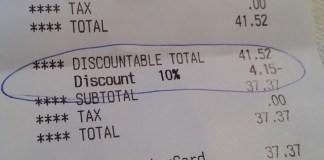 senior discount bellingham