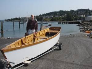 row boat replica