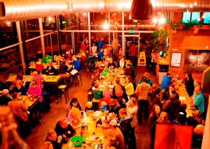 Events like this Lego Build-Off at Aslan Brewery spreads Inner Child's message of creative play while raising funds to support charitable programs. Photo credit: Tyler Hillis.