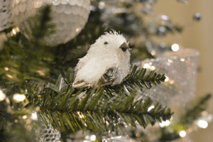 Decorations adorn your Christmas tree while jolly music - either contemporary or classical - sets the tone for the season.