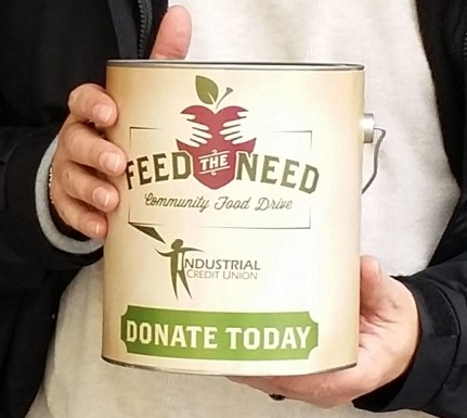 Feed the Need Raises Over $215,000 for Whatcom County Food Banks. Photo courtesy: Industrial Credit Union.