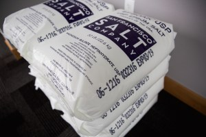This special Epson Salt is what creates that feeling of floating on a soft pillow. Photo courtesy: Still Life Massage and Float.