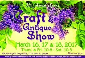 31st Annual Spring Craft & Antique Show @ Northwest Washington Fair and Event Center | Lynden | Washington | United States
