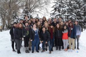 Western has two audition-only a capella groups on tour in Eastern Washington. Photo Courtesy: WWU A Capella Club.