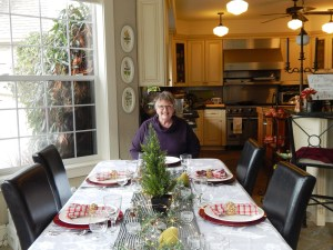 Betty Cribbs transformed her manor into a B & B because she loves to cook and meet travelers. Photo credit: Patricia Herlevi.