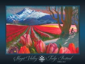 Take art classes with the Skagit Valley Tulip Festival's 2017 poster artist @ Whatcom Community College