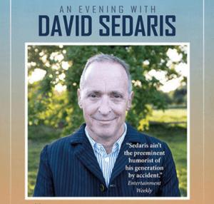 An Evening with David Sedaris @ Mount Baker Theatre   Bellingham   Washington   United States