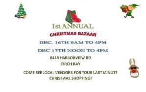 First Annual Thousand Trails Christmas Bazaar @ Thousand Trails  | Blaine | Washington | United States