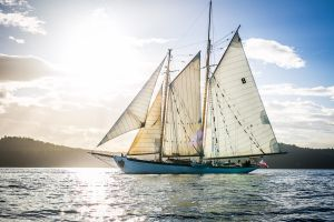 Schooner Zodiac Salmon Dinner Sail @ Schooner Zodiac   Bellingham   Washington   United States