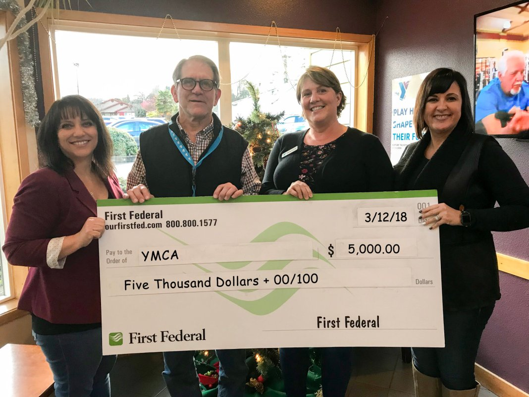 First Federal donates