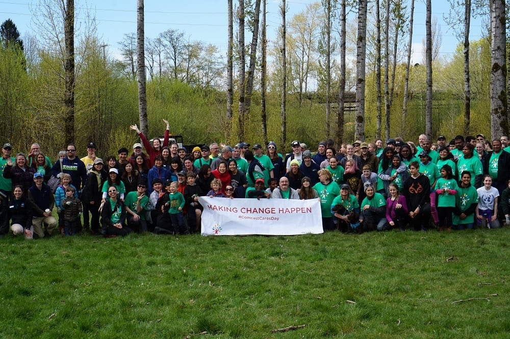 Comcast Group Photo