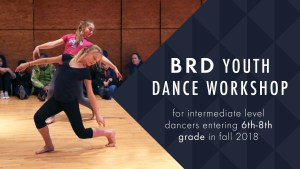 BRD Youth Dance Workshop @ Firehouse Performing Arts Center | Bellingham | Washington | United States