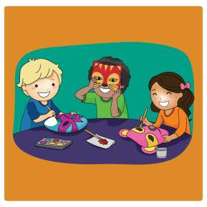 Mask Making for Kids @ WCLS Island Library | Lummi Island | Washington | United States