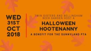 Twin Sisters Halloween Hootenanny : A Sunnyland PTA Benefit @ Twin Sisters Brewing Co. | Bellingham | Washington | United States