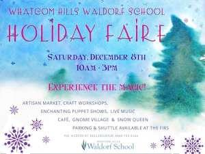 Whatcom Hills School Holiday Faire @ Whatcom Hills Waldorf School   Bellingham   Washington   United States
