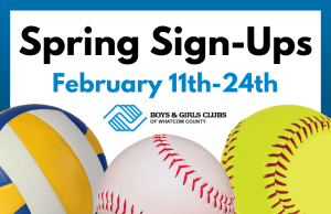 Spring Sports Registrations @ Boys & Girls Clubs of Whatcom County