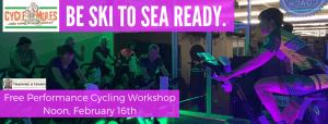 Free Performance Cycling Workshop @ Bellingham Training & Tennis Club