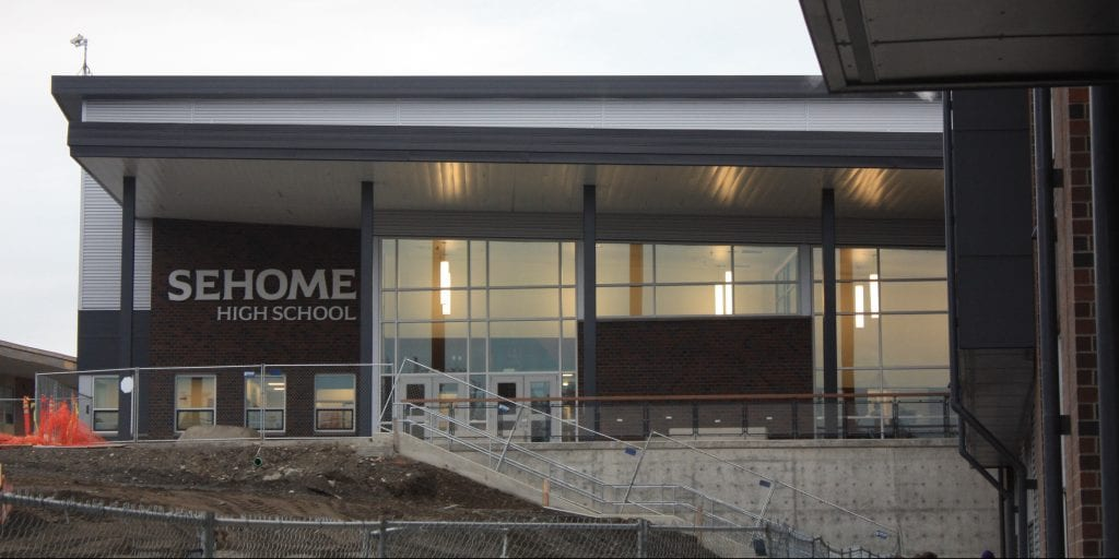 Sehome High School From Old Building To New Whatcomtalk