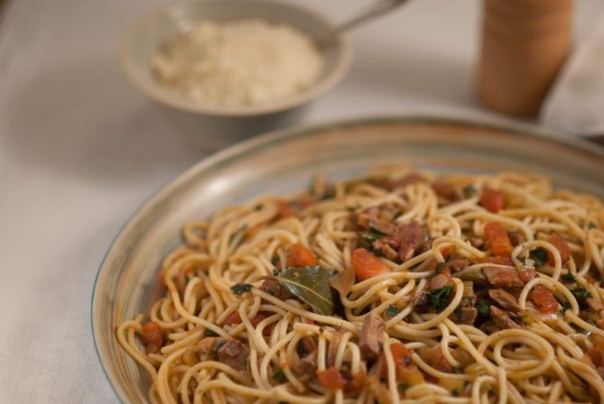 pork spaghetti B-0093