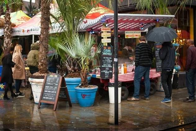 Lower Marsh street food