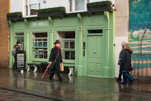Lower Marsh is awash with indie coffee shops