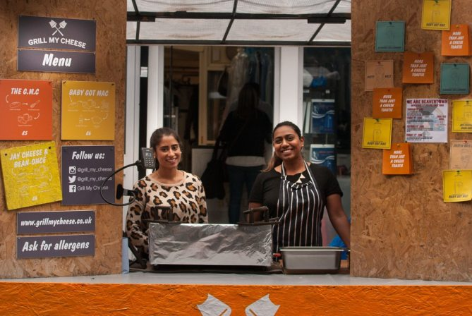 Grill My Cheese, Clerkenwell Road by What Dad Cooked