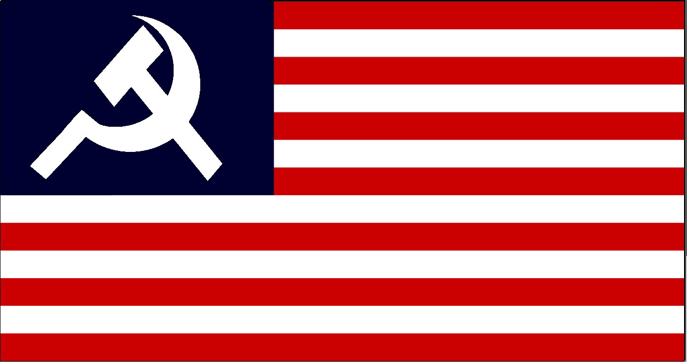 The American Communist flag