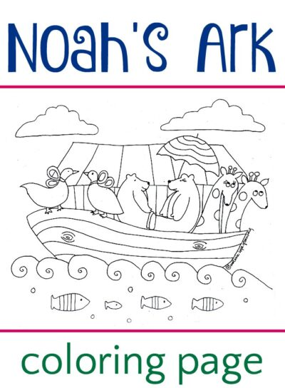 noah and the ark coloring pages # 16