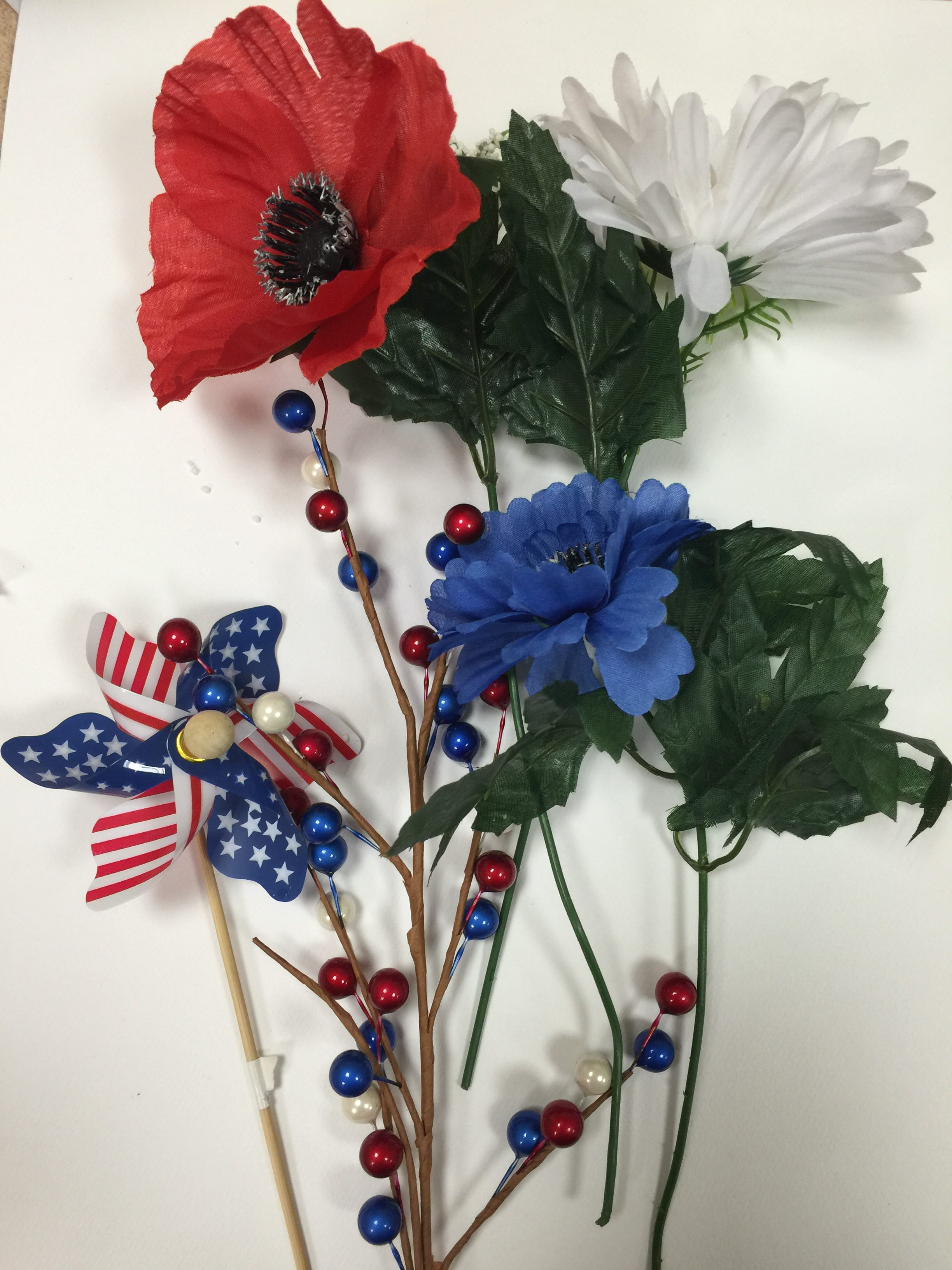 Patriotic table decoration what do we do with grandpa or grandma image img3135 mightylinksfo