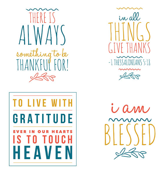 My Recent Stock Quotes: Printable Gratitude Quotes And Scripture