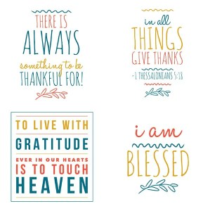 Printable Gratitude Quotes and Scripture