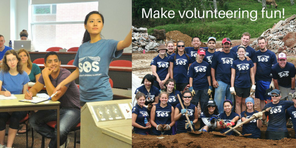 Make volunteering fun!