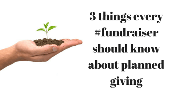 3 things every #fundraiser should know