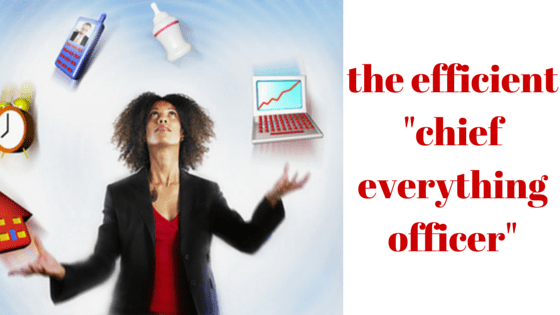 the efficient -chief everything officer-