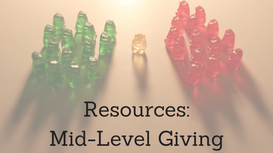 Resources- Mid-Level Giving