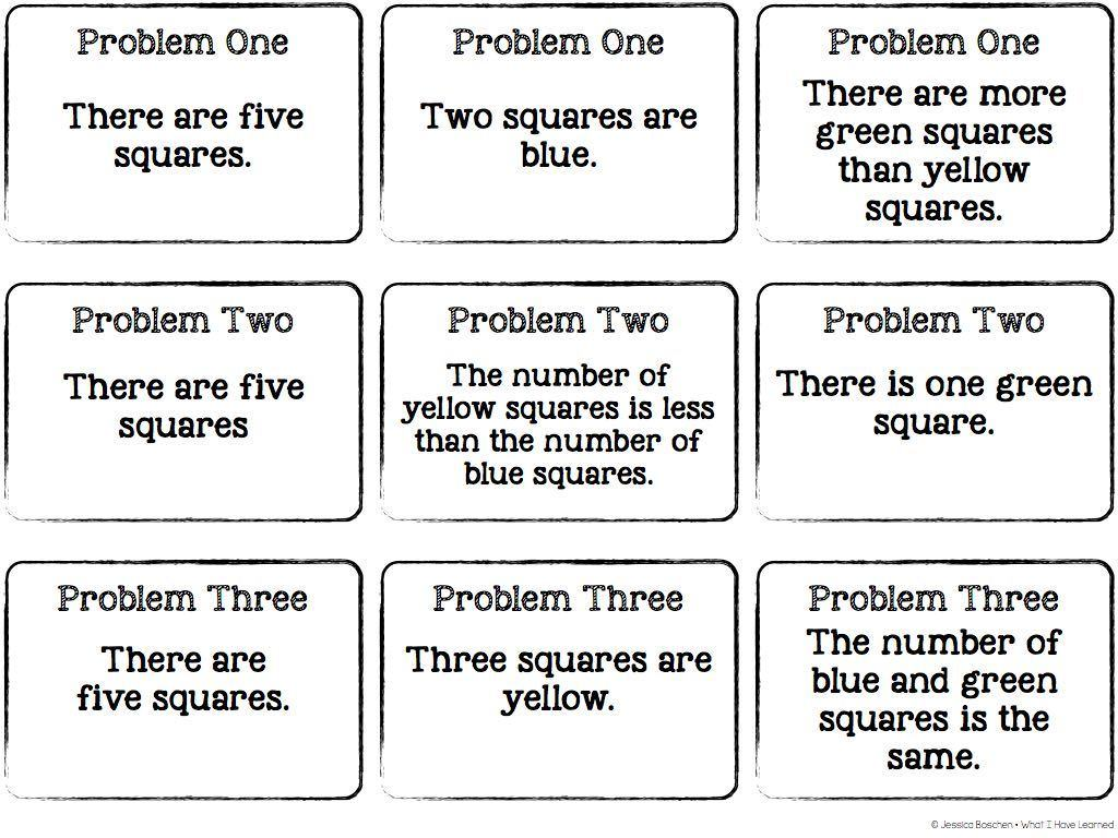 Cooperative Learning Through Problem Solving What I Have