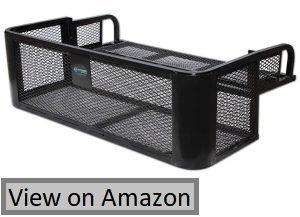 ATV UTV Universal Rear Drop Basket Rack Steel Cargo Hunting Titan