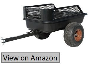 MotoAlliance Impact Implements ATV UTV Heavy Duty Utility Cart
