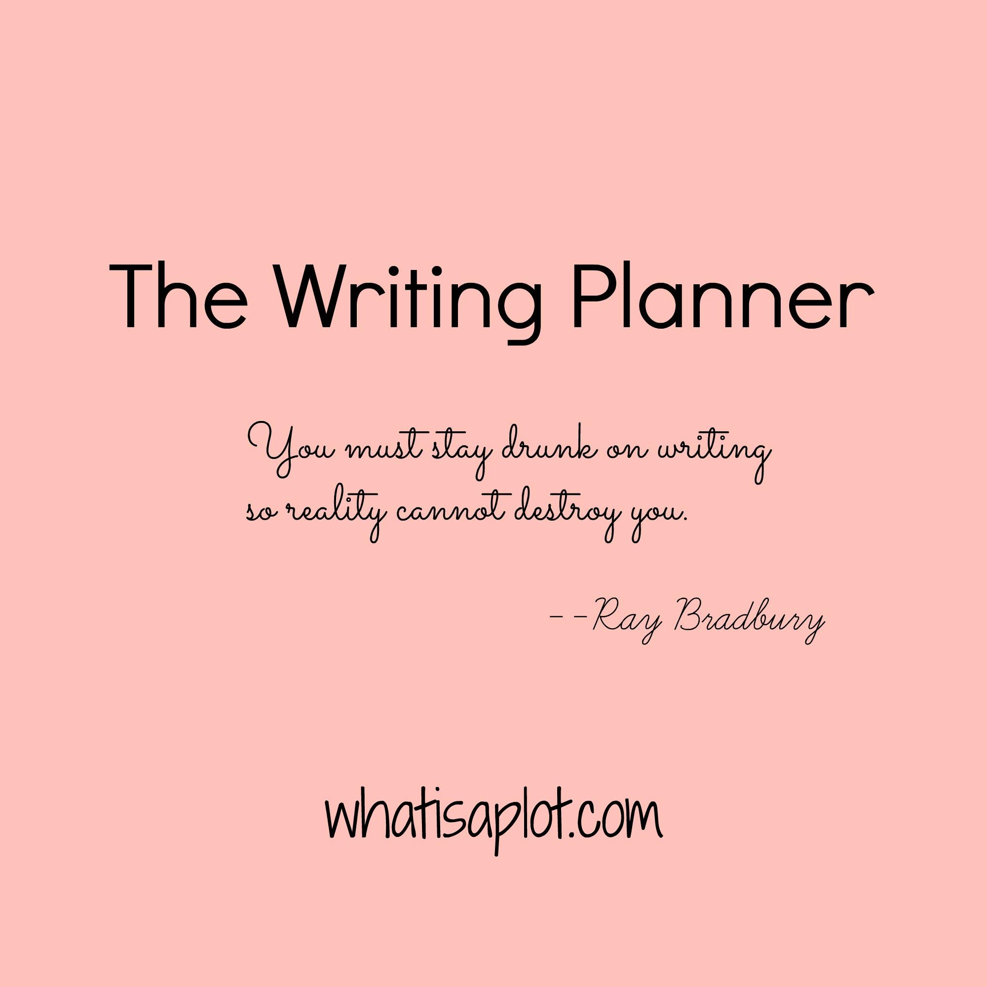 Meet The Writing Planner