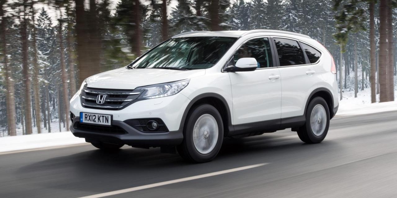 2014 Honda CR-V 2WD EX-L Review