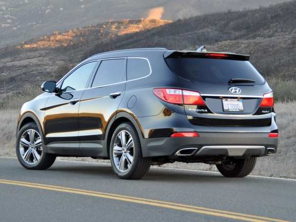Hyundai Santa Fe Limited 2014 03