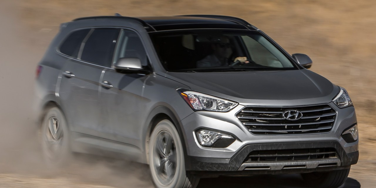 Hyundai Santa Fe Limited 2014 Review