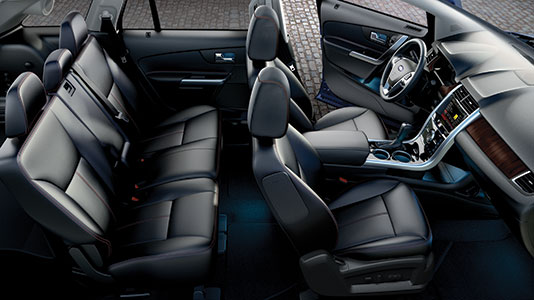 2014 ford edge limited interior